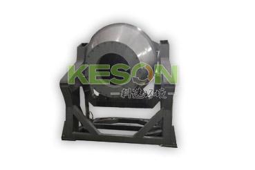 Slope rotary furnace